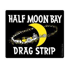 Half Moon Bay Drag Strip Retro Sticker