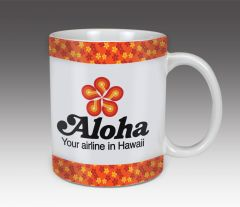Aloha Airlines Vintage Coffee Mug