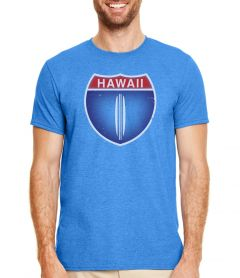 5 &10 Hawaii Highway 1 Men's T-Shirt