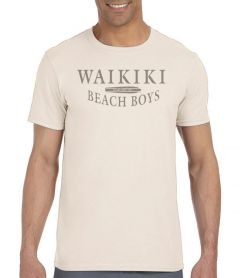 5 &10 Waikiki Beach Boys Men's T-Shirt