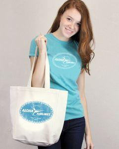 """Aloha Airline """"Funbirds"""" Tote"""