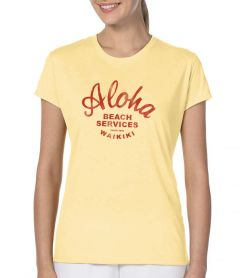 Aloha Beach Services Women's T-Shirt