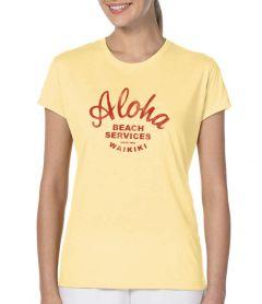 Aloha Beach Services Women's T-Shirt