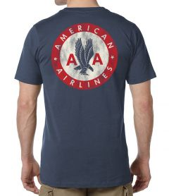 AMERICAN AIRLINES LOGO MEN'S T-SHIRT