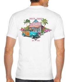 Aoki's Shave Ice North Shore Men's T-Shirt