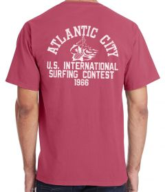 Atlantic City 1966 Vintage Red T-Shirt