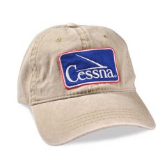 Cessna Logo Adjustable Cap