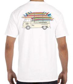Clark Foam Stack Men's T-Shirt