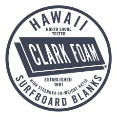 Clark Foam Sticker