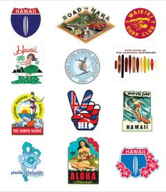 Classic Sticker Pacific Collection