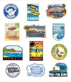 Classic Sticker Sea Foam Collection