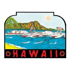 Diamond Head Sticker
