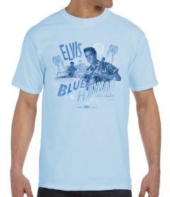 Elvis in Blue Hawaii Men's T-Shirt