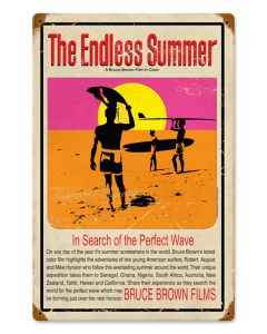 Endless Summer Metal Sign