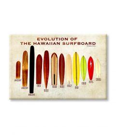 Evolution of the Surfboard Magnet