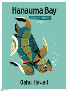 Hanauma Bay Poster