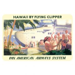 Hawaii by Clipper Sticker