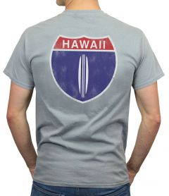Hawaii Highway 1 Men's Shirt