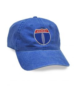 Hawaii HWY 1 Adjustable Cap