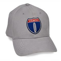 Hawaii Hwy 1 Grey Adjustable Cap