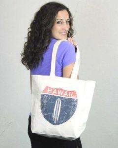 Hawaii Hwy 1 Tote Bag
