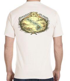 Hawaiian Islands Woodcut T-Shirt
