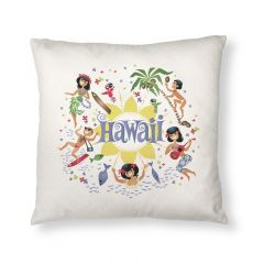 Here's Hawaii Throw Pillow Cover