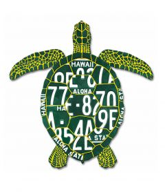 Honu License Plate Metal Sign