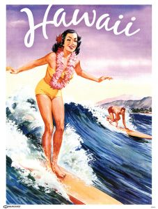 Libby's Hawaii Poster
