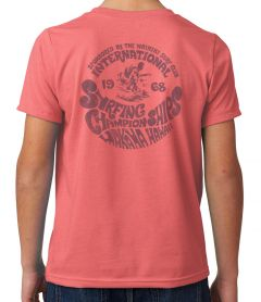 Makaha International Surf Championships 1968 Youth T-Shirt