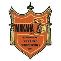 Makaha Surf Contest Sticker