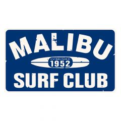 Malibu Surf Club Sticker