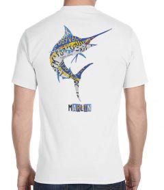 Marlin License Plate Men's T-Shirt