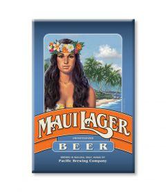 Maui Lager Magnet