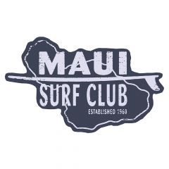 Maui Surf Club Sticker