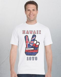 Mens Hawaii Peace T-Shirt