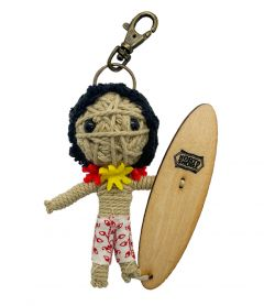 North Shore Surfer Keychain