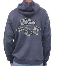On Any Sunday Lean In Pullover Hoodie