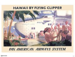 Pan Am Clipper Poster