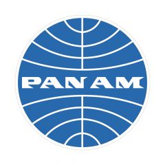 Pan Am Logo Sticker