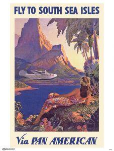 Pan Am South Sea Poster