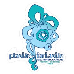 Plastic Fantastic Surfboards Sticker