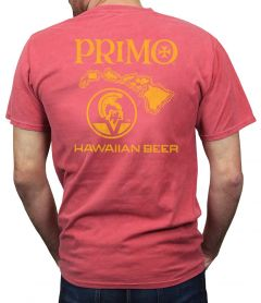 Primo Vintage Red Men's Shirt