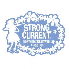 Strong Current Hula Sticker