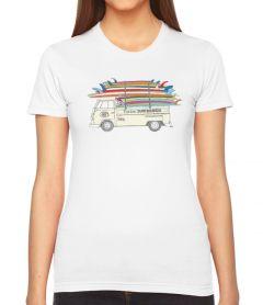 Clark Foam Stack Women's T-Shirt