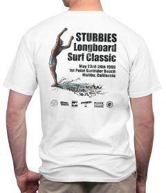 Stubbies Malibu Longboard Classic T-Shirt