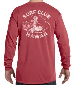 Surf Club Hawaii Men's Long Sleeve (Unisex)