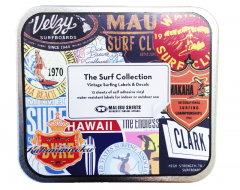 Surf Sticker Tin