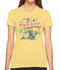 The Brady Bunch Hawaii Bound Womens T-Shirt