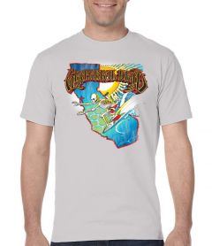 The Grateful Dead Summer Tour 1986 T-Shirt